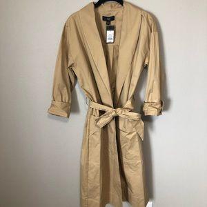 NWT   Khaki trench coat
